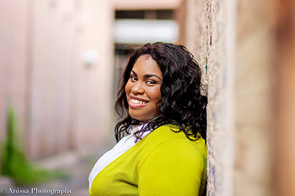 Image of Angie Thomas by Anissa Photography